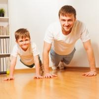 Kako da vežbate sa decom - set vežbi 02